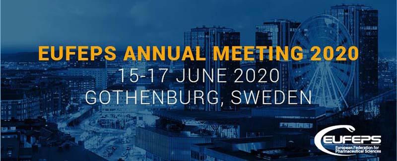 EUFEPS GODIŠNJI SASTANAK 2020, 15. – 17. lipnja, GETEBORG 2020.