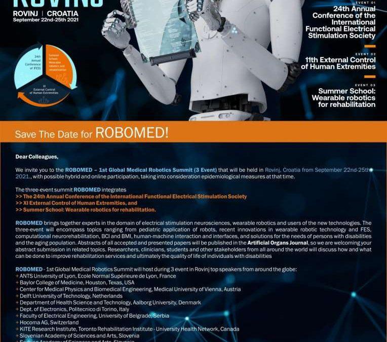Pioniri u integriranju čovjeka i robota dolaze u Rovinj!